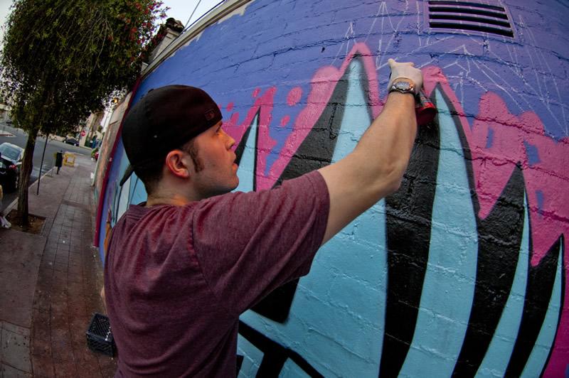 Kiosk painting street art