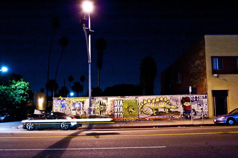 Hollywood Blvd Street Art