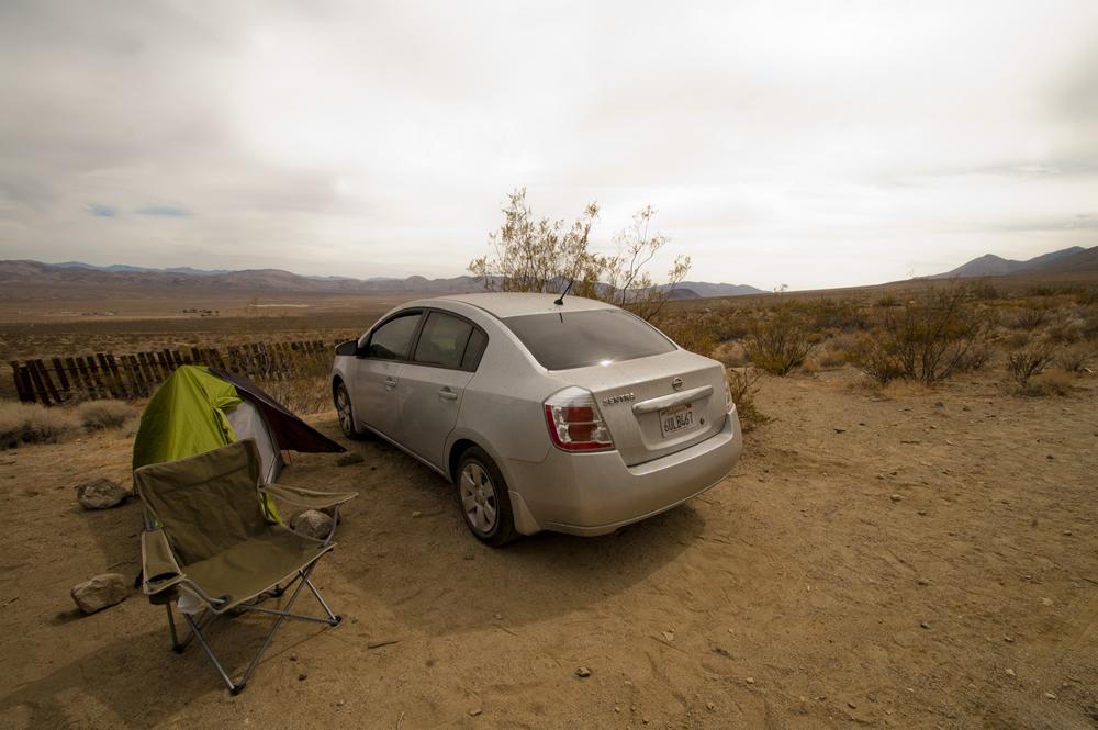 Coso Junction aka Rotten Ranch. Mojave Desert, California