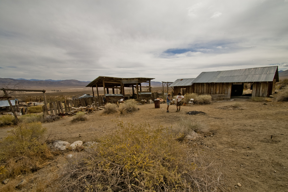 Coso Junction aka Rotten Ranch. Mojave Desert, California