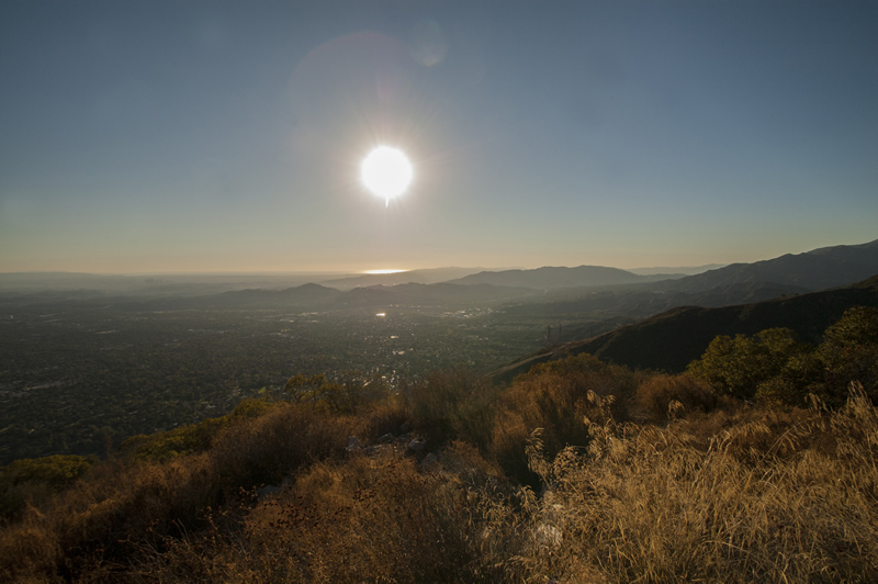 Echo Mountain Hike, Altadena, California