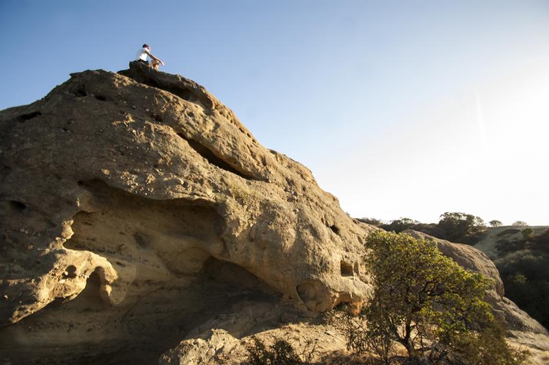 Topanga State Park Hiking to Eagle Rock