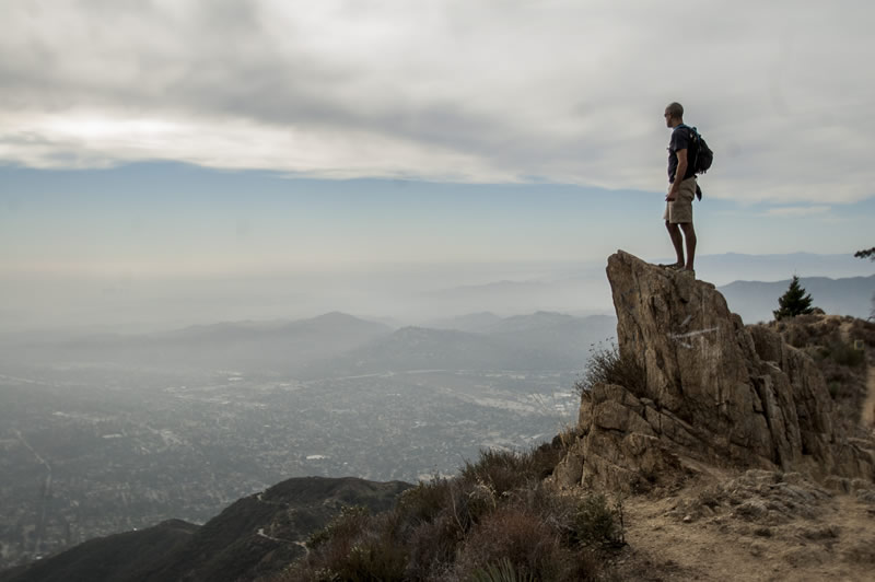 Sam Merrill Trail, Echo Mountain, Inspiration Point, Altadena