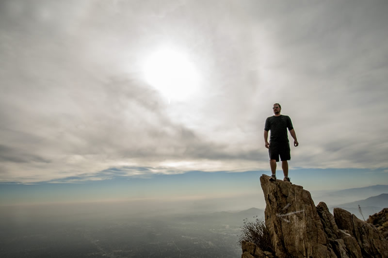 Sam Merrill Trail, Echo Mountain, Inspiration Point, Altadena